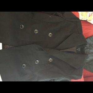 Women's black coat, size XL